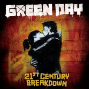 21st Century Breakdown album cover green day