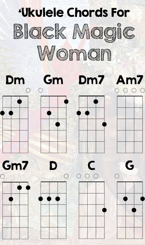 u0026quot;Black Magic Womanu0026quot; By Santana : Live Ukulele