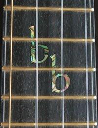 moore bettah custom fretboard inlay