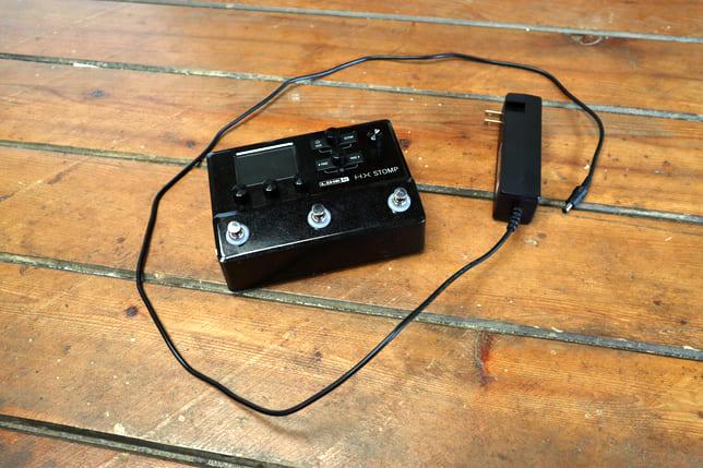 hx stomp and dc-3 power cord