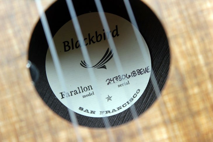 blackbird farallon label