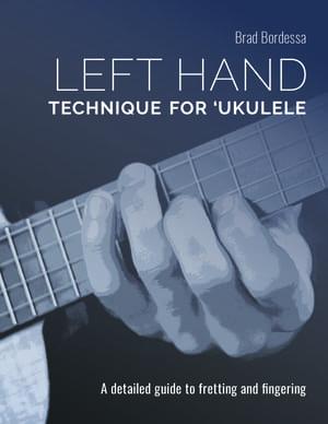 left hand technique for ukulele book cover