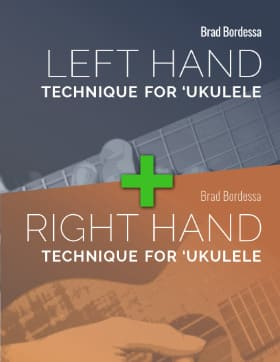 right hand left hand technique for ukulele bundle cover