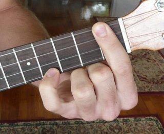 c#/Db major ukulele chord