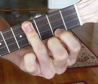 e major ukulele chord