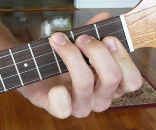 a#/bb major ukulele chord