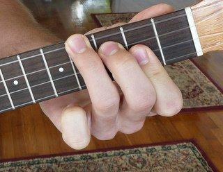 b major ukulele chord