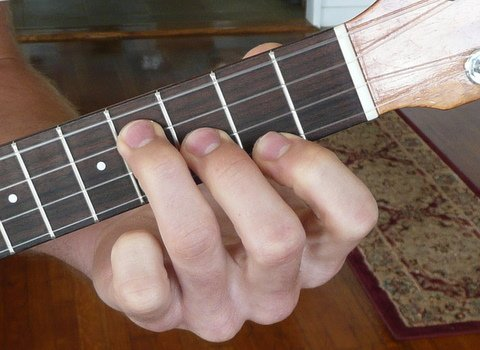 How To Play Minor Ukulele Chords Pics Diagrams Tab Live Ukulele