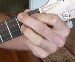 f#/gb minor ukulele chord
