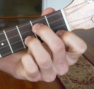 g minor ukulele chord fingering