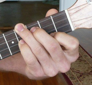 g# ab minor ukulele chord fingering