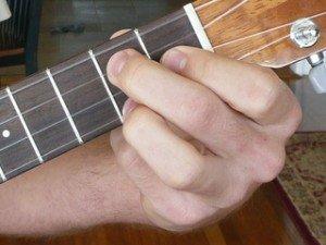 g dominant 7 ukulele chord fingering