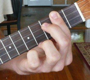 b dominant 7 ukulele chord fingering