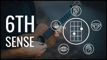 6th sense ukulele lesson course cover image