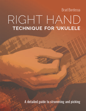 right hand technique for ukulele ebook cover