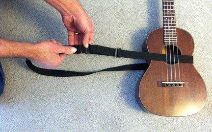 mobius ukulele strap