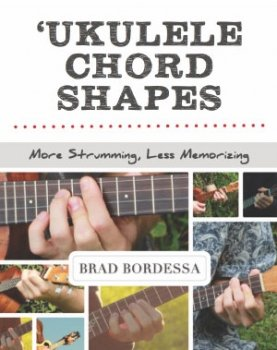 ukulele chord shapes book cover