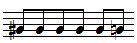 sharp note then natural note