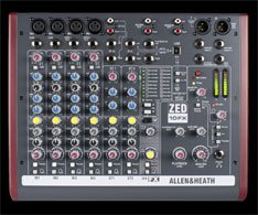 allan and heath zedfx mixer