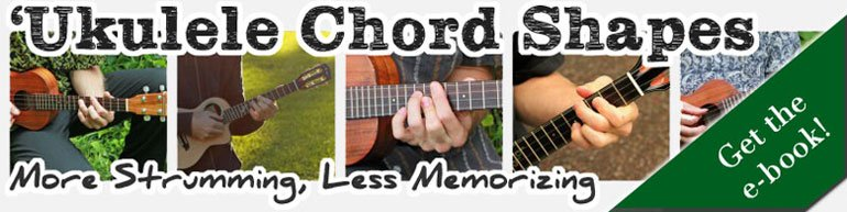 Ukulele Chord Shapes Ebook