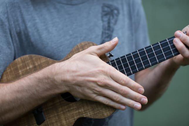 chunk strum ukulele after