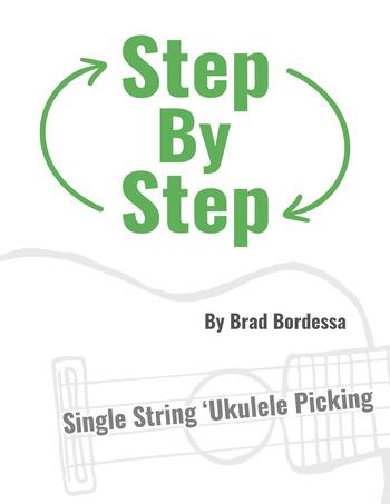 step-by-step ukulele picking ebook cover