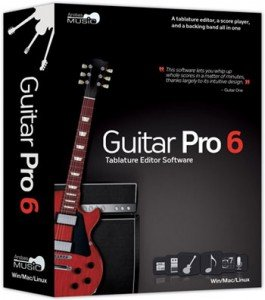 guitar pro packaging