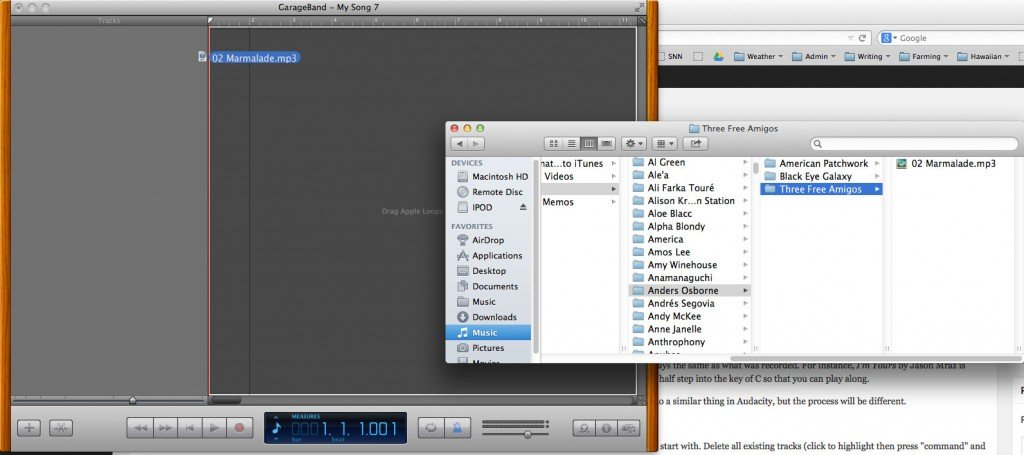 screenshot import mp3 for pitch change