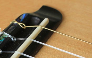 ukulele low g string