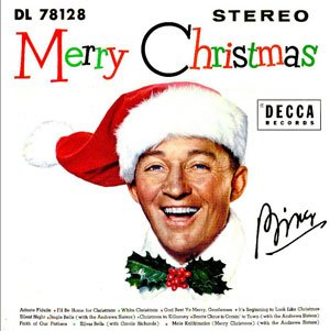 bing crosby merry christmas album cover