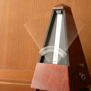 Scary metronome picture