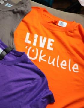 live ukulele t shirts thumb