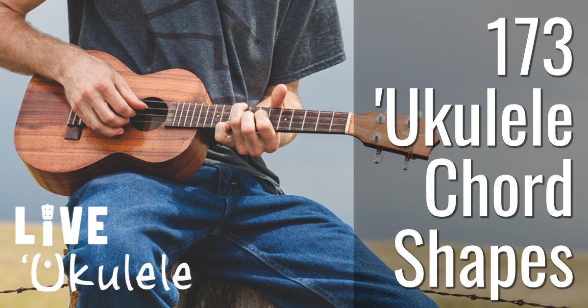 ukulele chord shapes � live ukulele