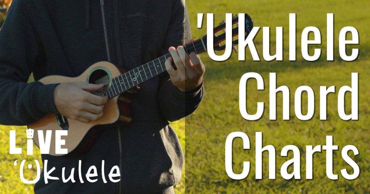 Ukulele Chords Charts Wdiagrams Pictures Live Ukulele