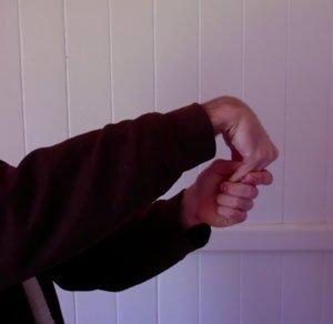 ukulele exercise hand stretch down